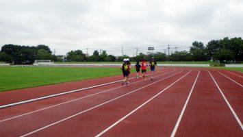 2017/09/06の足立区舎人公園マラソン練習会3