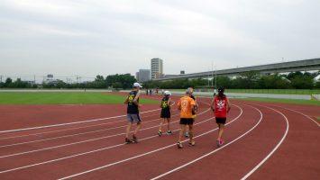 2017/09/20の足立区舎人公園マラソン練習会1