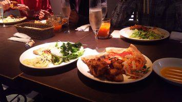 2017/10/18のランチは新宿サブナードのサルヴァトーレで食べ放題