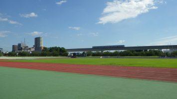 2017/09/13秋晴れの舎人公園陸上競技場