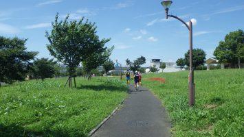 2017/09/13の足立区舎人公園マラソン練習会1