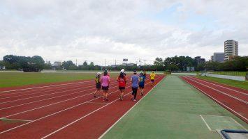 2017/10/04の足立区舎人公園マラソン練習会1