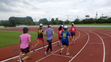 2017/10/04の足立区舎人公園マラソン練習会2