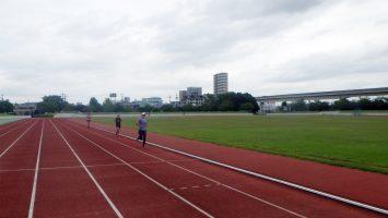 2017/10/04の足立区舎人公園マラソン練習会3