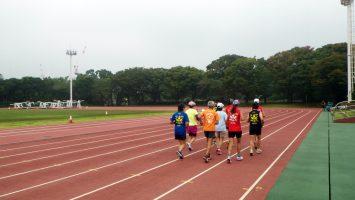 2017/10/11水曜マラソン練習会in織田フィールド1