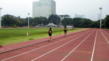 2017/10/11水曜マラソン練習会in織田フィールド2