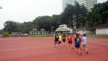 2017/10/11水曜マラソン練習会in織田フィールド6