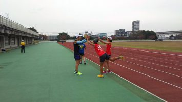 2017/11/08の足立区舎人公園マラソン練習会2