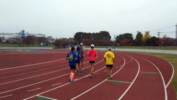 2017/11/08の足立区舎人公園マラソン練習会1