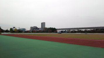 2017/11/08の舎人公園陸上競技場