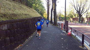 2017/11/29の颯走塾水曜マラソン練習会4