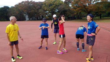 2017/11/01の颯走塾水曜マラソン練習会in織田フィールド3
