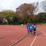 2017/11/22の颯走塾水曜マラソン練習会in織田フィールド3