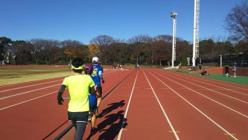2017/12/06の颯走塾水曜マラソン練習会in織田フィールド1