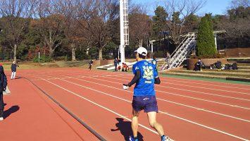 2017/12/13の颯走塾水曜マラソン練習会in織田フィールド3