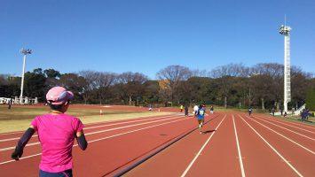 2017/12/13の颯走塾水曜マラソン練習会in織田フィールド2