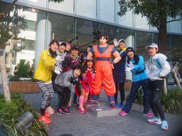 2017/12/27 颯走塾東京マラソンコース試走会4