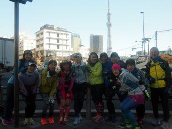 2017/12/27 颯走塾東京マラソンコース試走会6