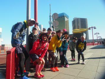 2017/12/27 颯走塾東京マラソンコース試走会10
