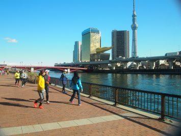 2017/12/27 颯走塾東京マラソンコース試走会11