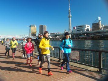 2017/12/27 颯走塾東京マラソンコース試走会13