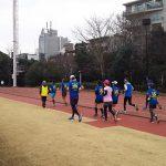 2018/01/17の颯走塾水曜マラソン練習会in織田フィールド3