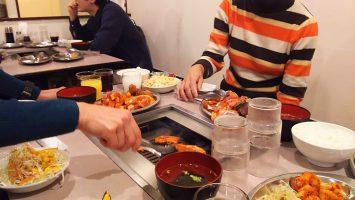 2018/01/24は新宿・味仙荘で焼き肉ランチ2