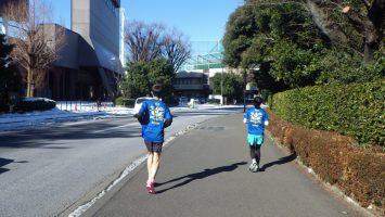 2018/01/24の颯走塾水曜マラソン練習会in神宮外苑4