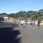 2018/02/07の颯走塾水曜マラソン練習会in皇居2