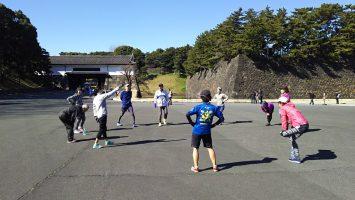 2018/02/07の颯走塾水曜マラソン練習会in皇居7