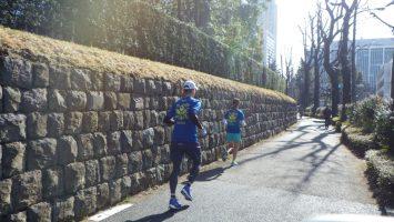 2018/01/31の颯走塾水曜マラソン練習会in東宮3