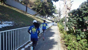 2018/01/31の颯走塾水曜マラソン練習会in東宮4