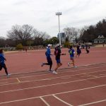 201/02/21の颯走塾水曜マラソン練習会in織田フィールド3