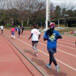 2018/03/07の颯走塾水曜マラソン練習会in織田フィールド3