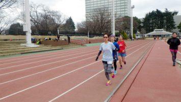 2018/03/07の颯走塾水曜マラソン練習会in織田フィールド4