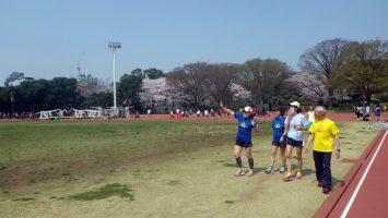 2018/03/28の颯走塾水曜マラソン練習会in織田フィールド4