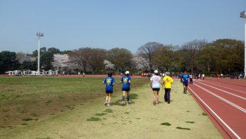 2018/03/28の颯走塾水曜マラソン練習会in織田フィールド5