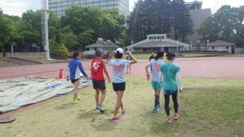 2018/04/11颯走塾水曜マラソン練習会in織田フィールド6