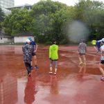 2018/04/18の颯走塾水曜マラソン練習会in織田フィールド3