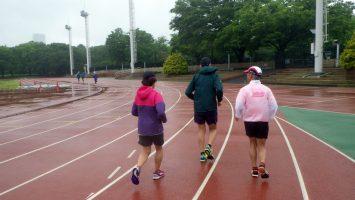 2018/05/09の颯走塾水曜マラソン練習会in織田フィールド1