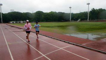 2018/05/09の颯走塾水曜マラソン練習会in織田フィールド3