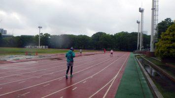 2018/05/09の颯走塾水曜マラソン練習会in織田フィールド4