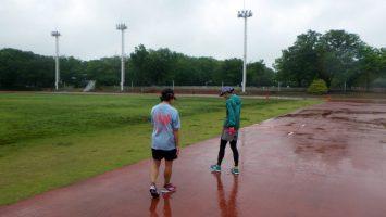 2018/05/09の颯走塾水曜マラソン練習会in織田フィールド5