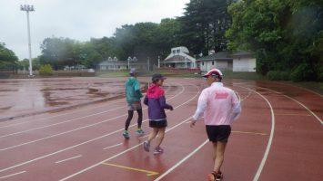 2018/05/09の颯走塾水曜マラソン練習会in織田フィールド6