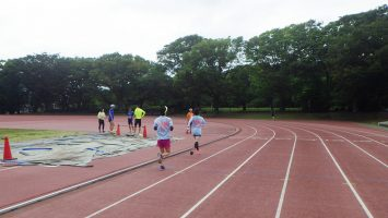 2018/05/23の颯走塾水曜マラソン練習会in織田フィールド2