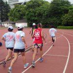2018/05/23の颯走塾水曜マラソン練習会in織田フィールド4