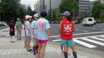 2018/05/30の颯走塾水曜マラソン練習会in皇居1