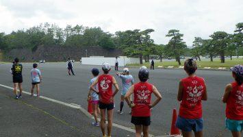 2018/05/30の颯走塾水曜マラソン練習会in皇居3