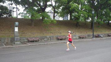 2018/05/30の颯走塾水曜マラソン練習会in皇居5