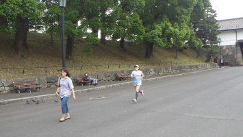 2018/05/30の颯走塾水曜マラソン練習会in皇居6